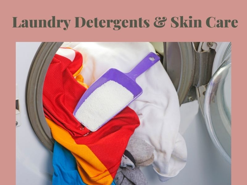 Is laundry detergent harmful to skin